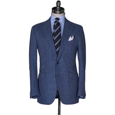 Blue Basketweave Sport Coat - Beckett & Robb