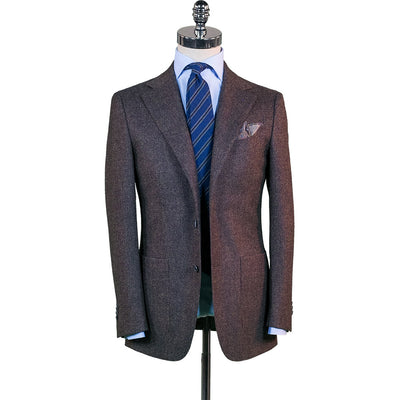 Brown Vintage Tweed Sport Coat - Beckett & Robb