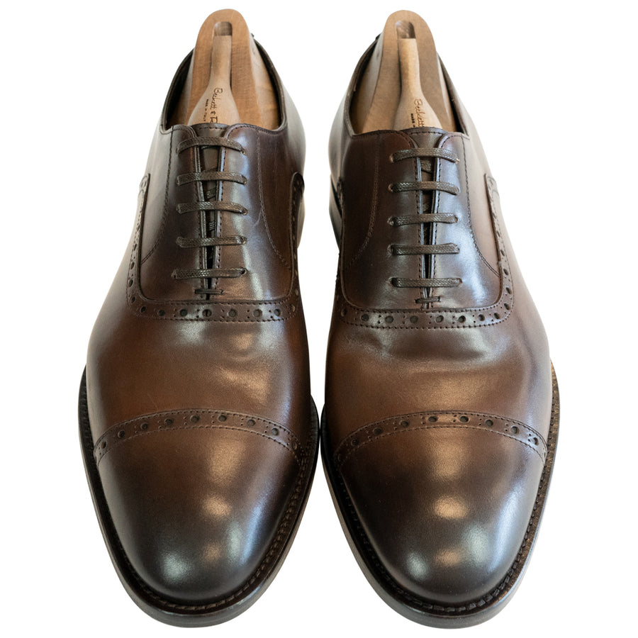 Arno Brown Cap Toe