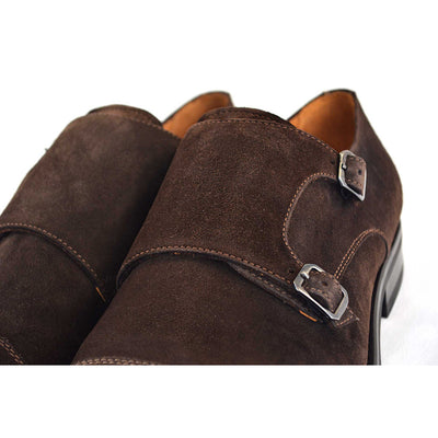 Regent Brown Double Monk Strap - Beckett & Robb