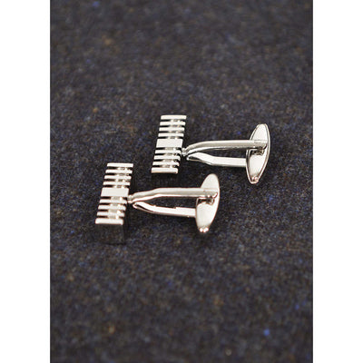 Stepped Cufflinks - Beckett & Robb