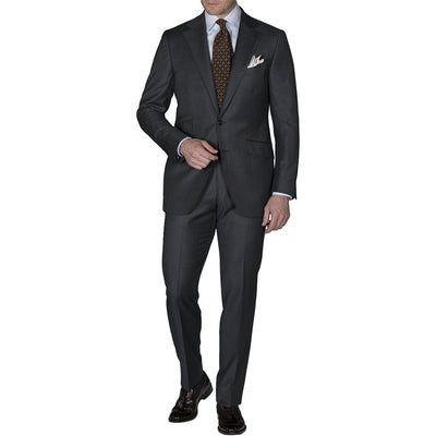 Dark Grey Crispaire Suit - Beckett & Robb