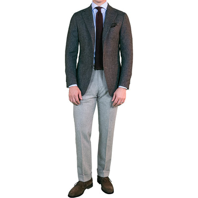 Moss Green Donegal Sport Coat - Beckett & Robb