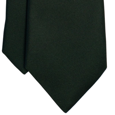 Forest Green Silk Tie - Beckett & Robb