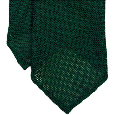 Green Grenadine Tie (Garza Piccola) - Beckett & Robb