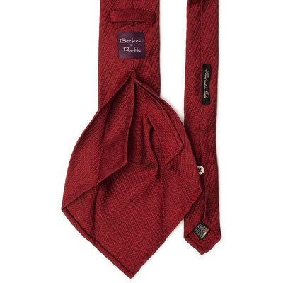 Red Grenadine Tie - Beckett & Robb