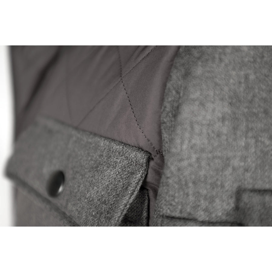 Grey Alpine Quilted Jacket
