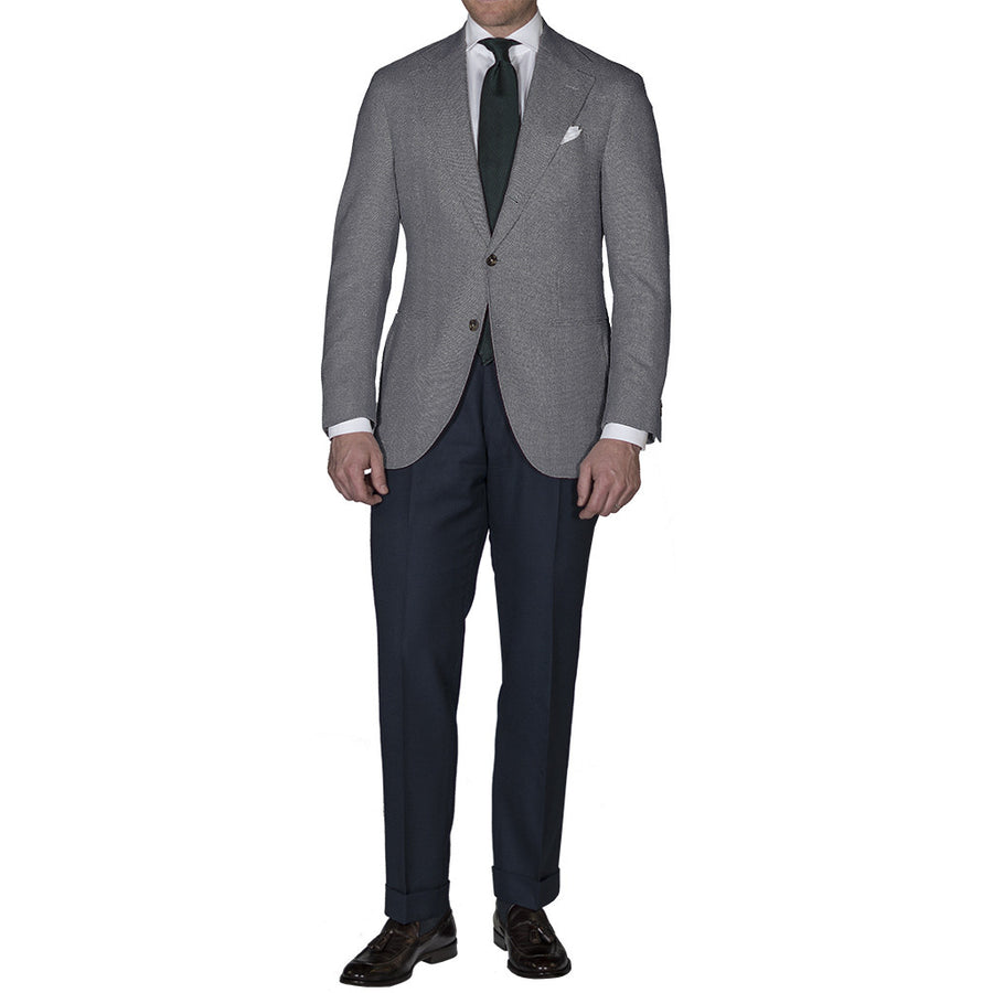 Grey Open Weave Sport Coat - Beckett & Robb
