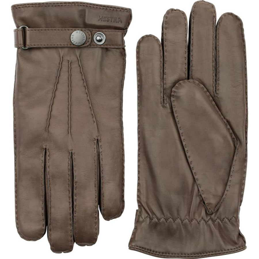 Hestra Leather Gloves - Clay