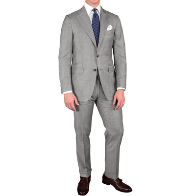 Grey Prince of Wales Suit