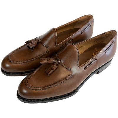 Carmina Brown Tassel Loafer - 734 - Beckett & Robb