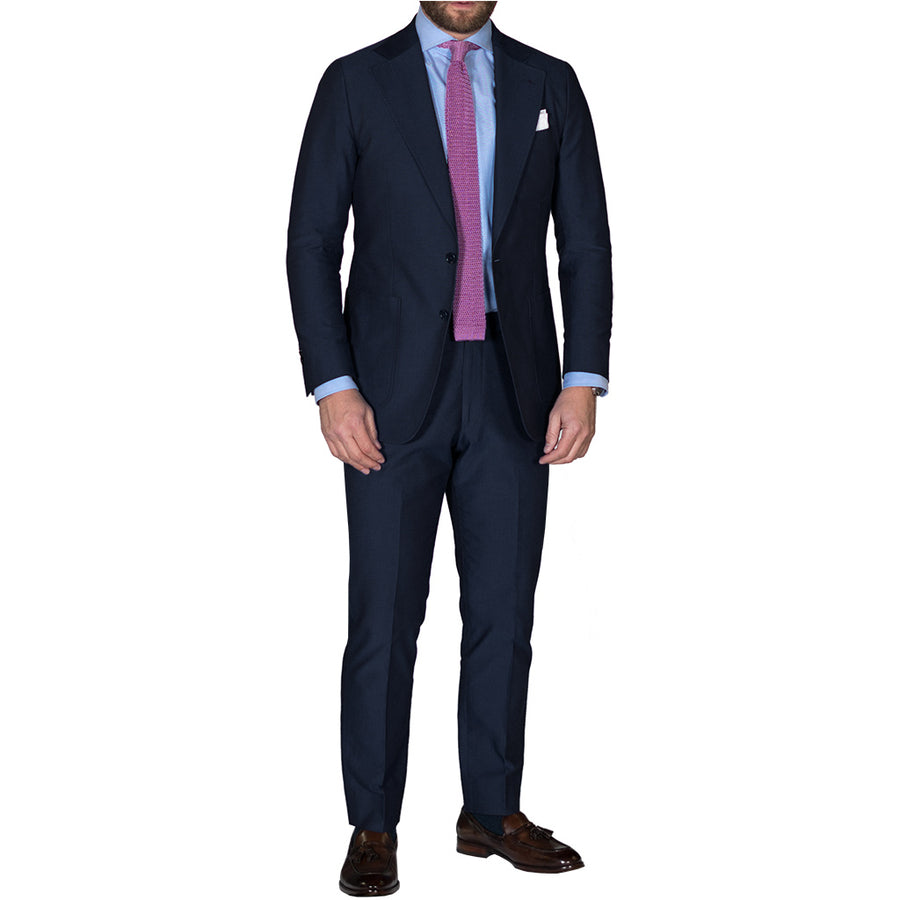 Blue Cotton Suit