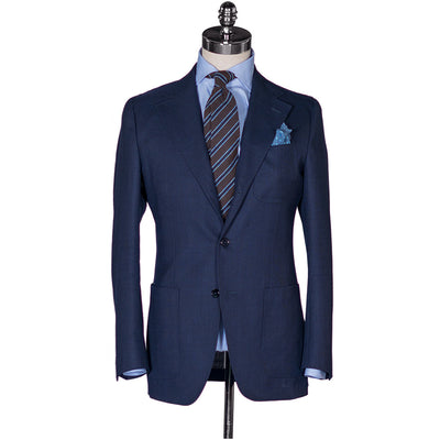 Navy Open Weave Sport Coat - Beckett & Robb