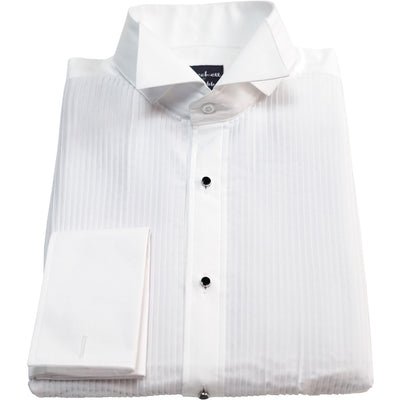 Pleated Bib Tuxedo Shirt - Beckett & Robb