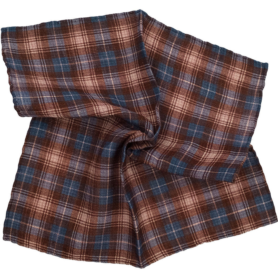 Plaid Pocket Square - Beckett & Robb