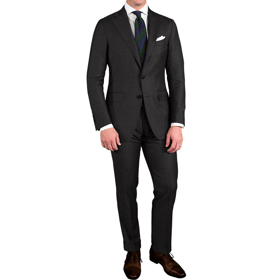 Charcoal Glen Plaid Suit - Beckett & Robb