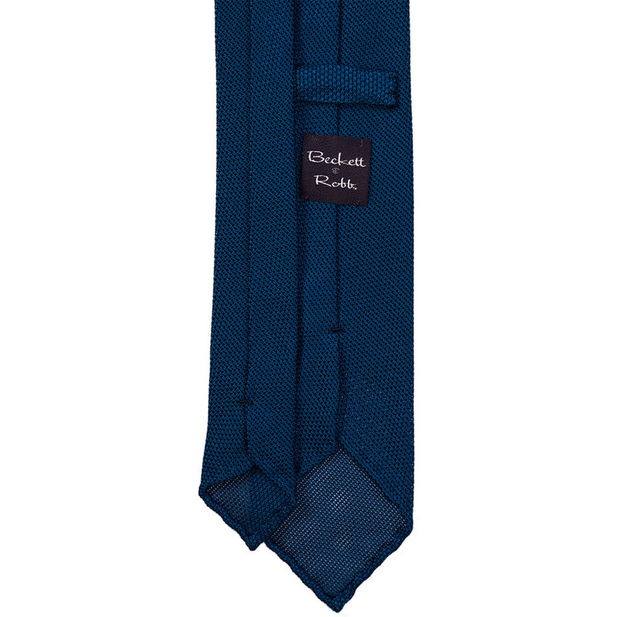 Royal Blue Grenadine Tie (Garza Piccola)