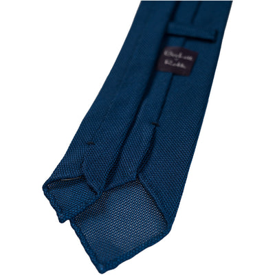 Royal Blue Grenadine Tie (Garza Piccola) - Beckett & Robb