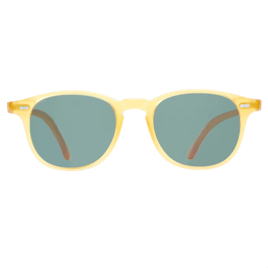 Shetland Honey Frame - Bottle Green Lenses