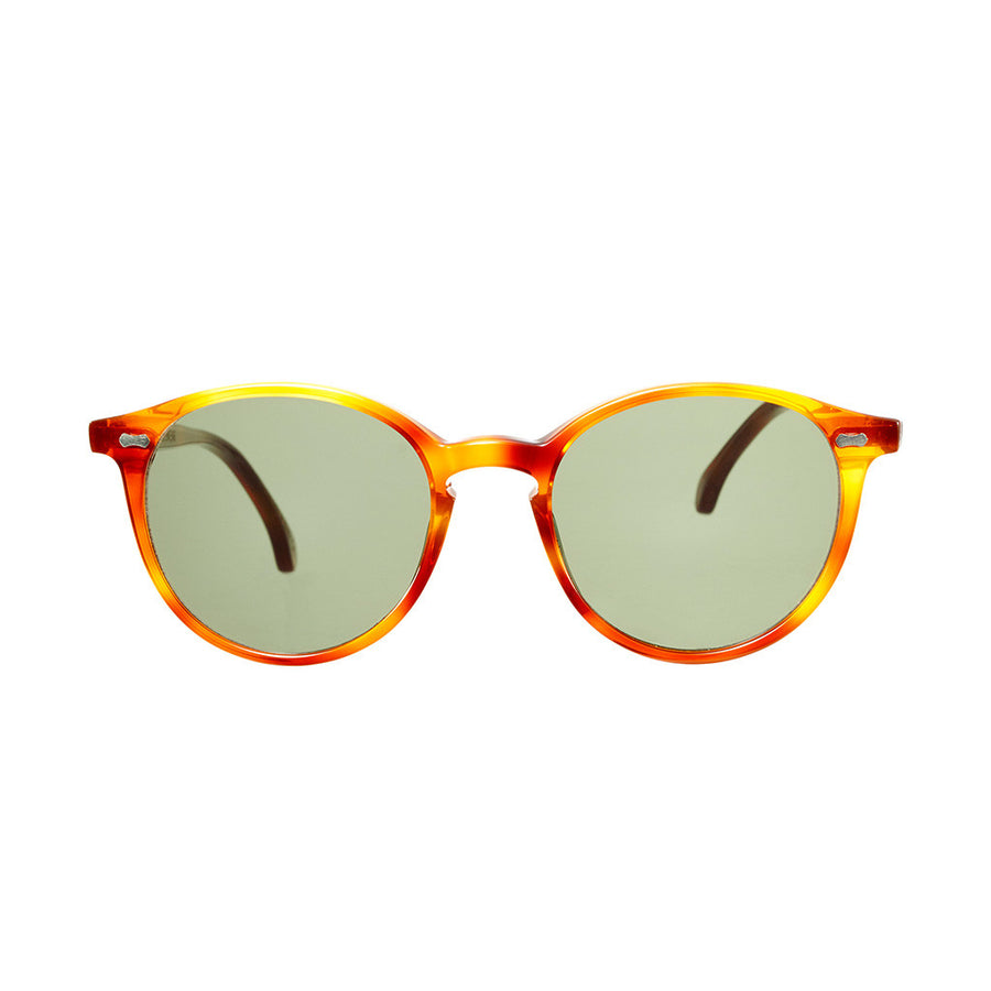 Cran Classic Tortoise Frame - Bottle Green Lenses - Beckett & Robb