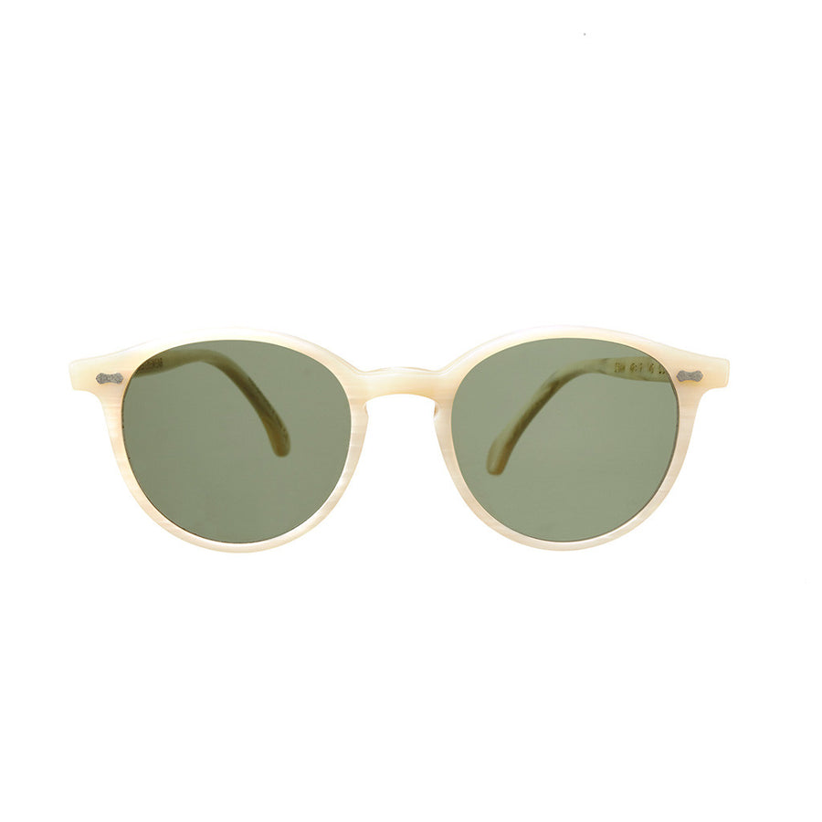 Cran Ivory Frame - Bottle Green Lenses - Beckett & Robb