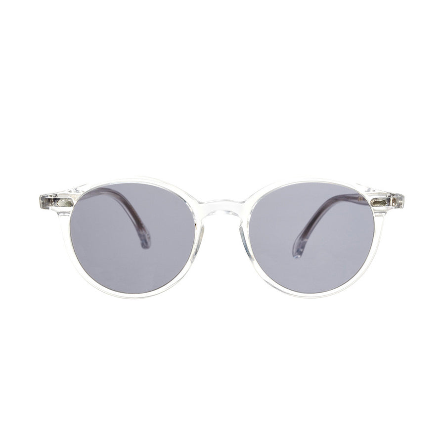 Transparent Acetate Frame - Gradient Grey Lenses - Beckett & Robb