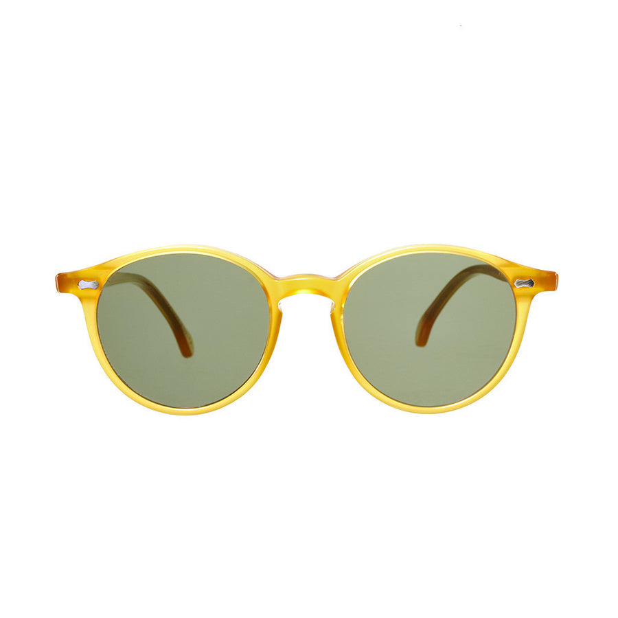 Honey Acetate Frame - Bottle Green Lenses - Beckett & Robb