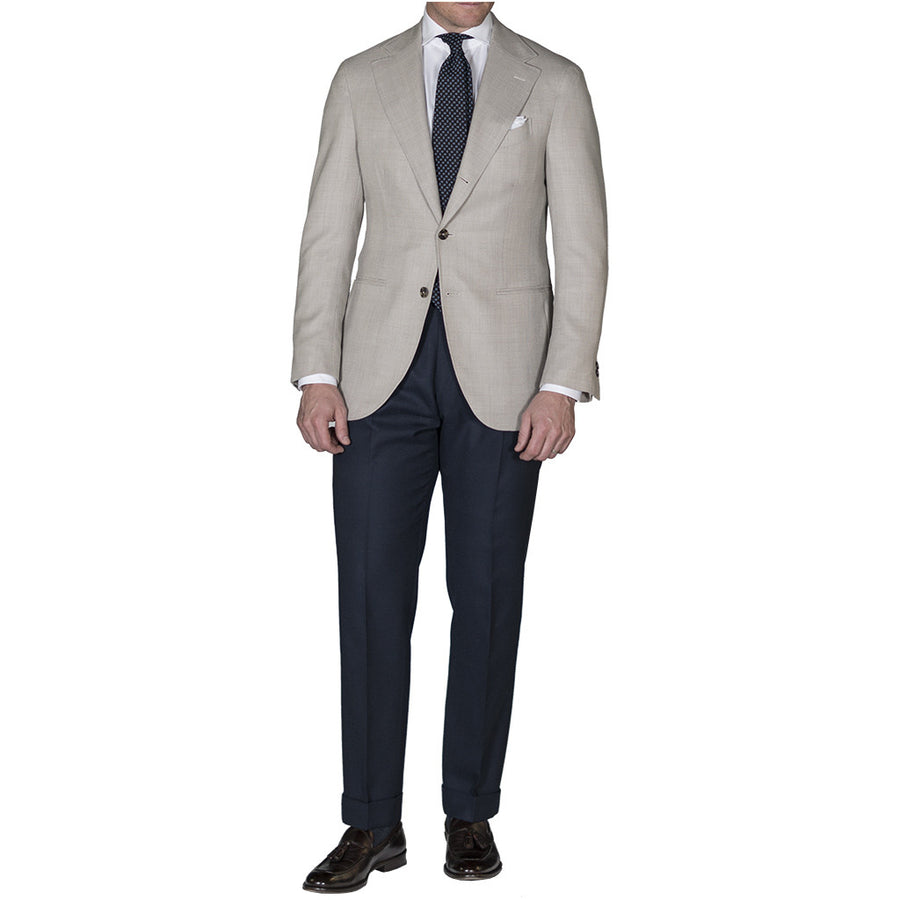 Tan Open Weave Sport Coat - Beckett & Robb