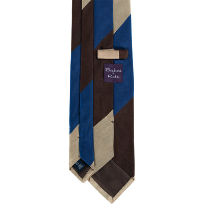 Triple Block Stripe Tie - Beckett & Robb