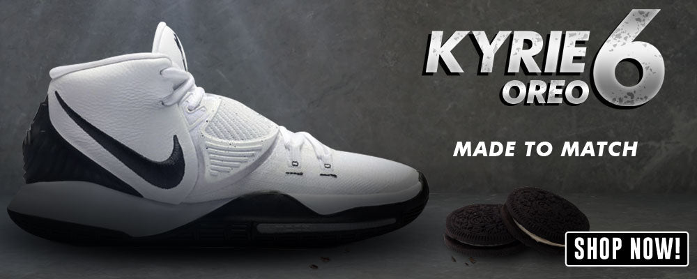 Kyrie 6 Oreo Clothing to match Sneakers | Clothing to match Nike Kyrie 6 Oreo Shoes