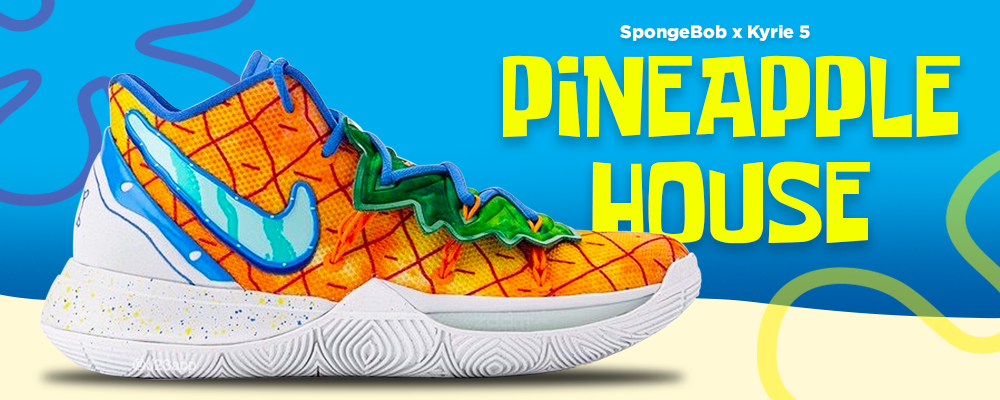 Kyrie 5 Pineapple House Sneaker Hook Up Clothing