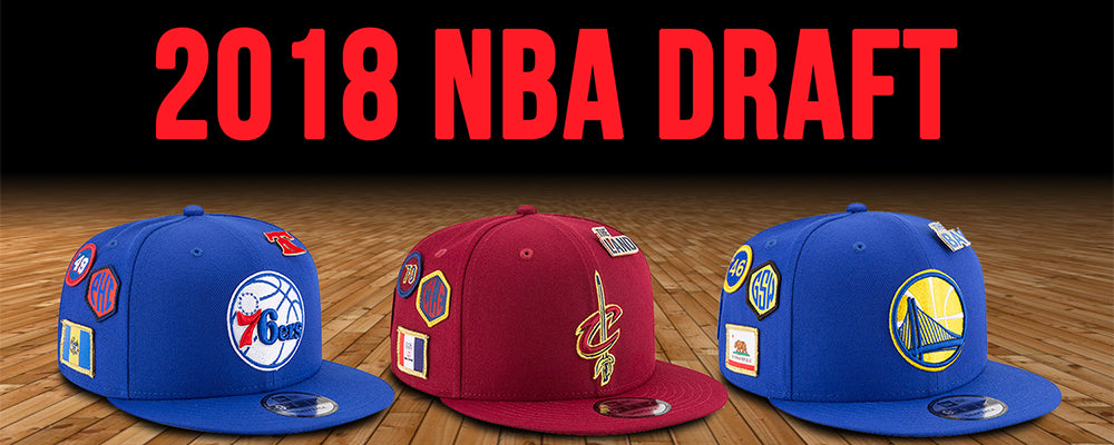 0cd0d3adfb4 2018 NBA Draft Hats