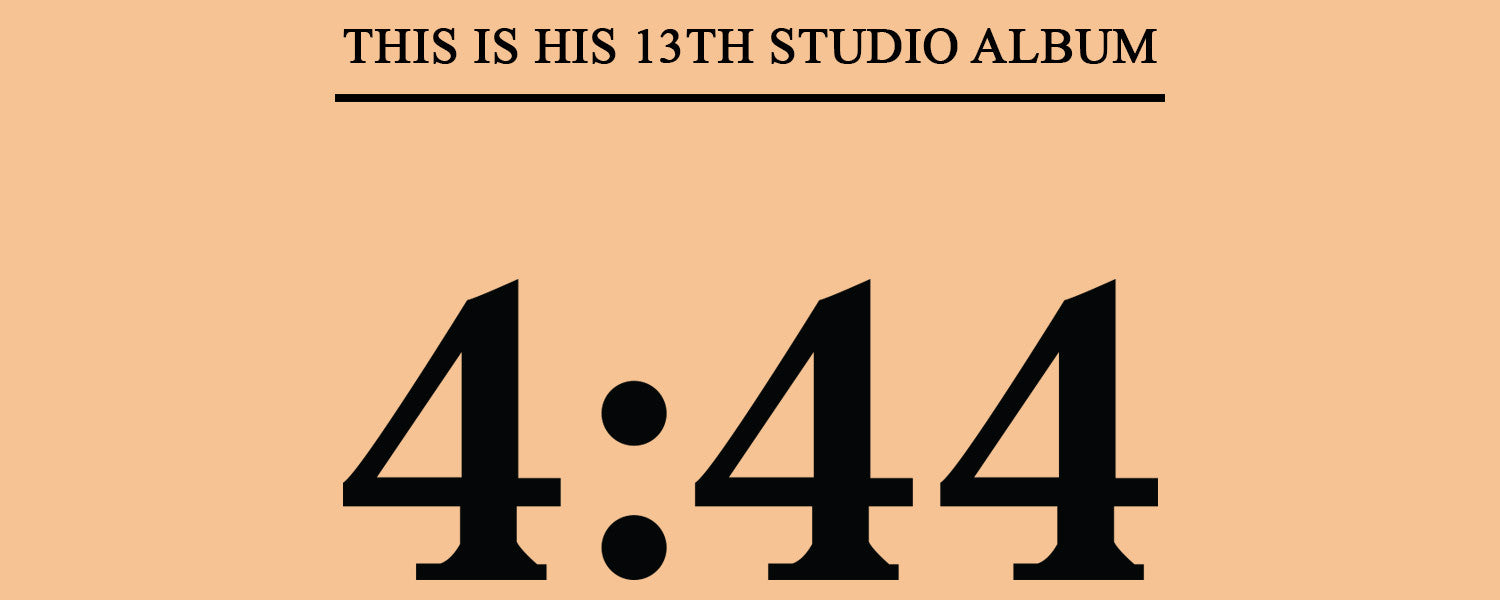 Jay Z 4:44 Roc Nation New Album Inspired Merchandise