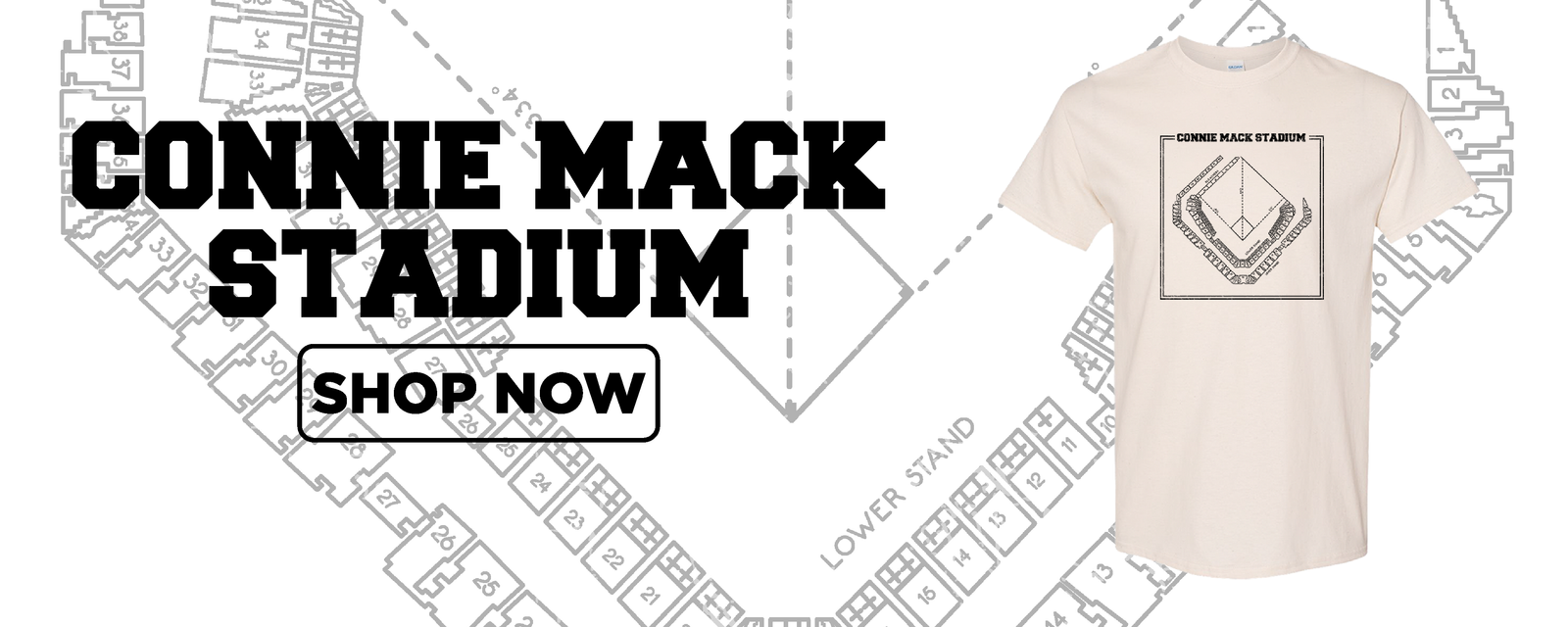 Connie Mack Retro Collection | Connie Mack Stadium Vintage Collection