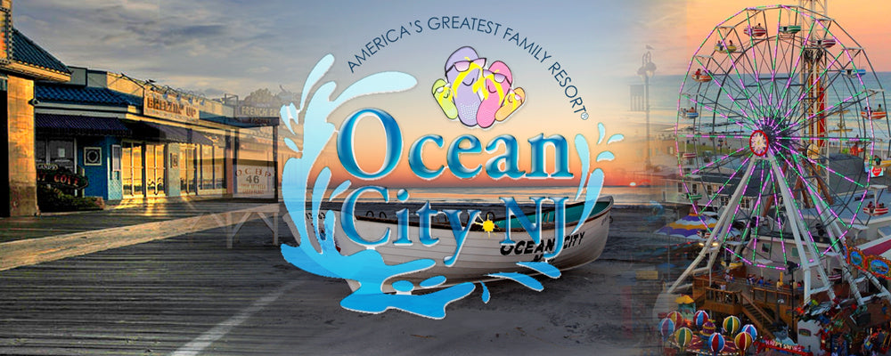 Ocean City New Jersey Souvenir Resort Clothing