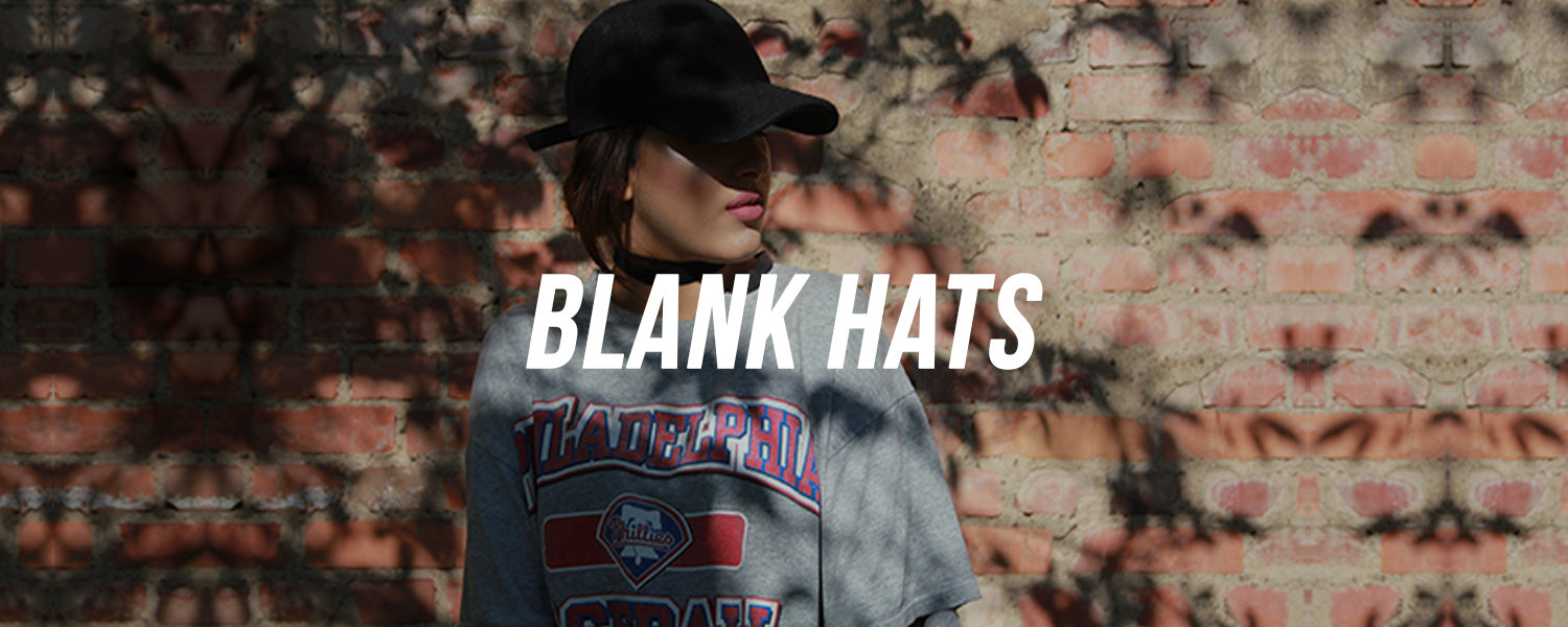Blank Hats | Blank Dad Hats, Blank Fitted Caps, Blank Snapback Hats and More Blank Headwear