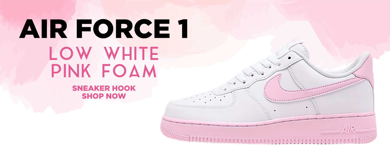 Air Force 1 Low White Pink Foam Clothing To Match Sneakers