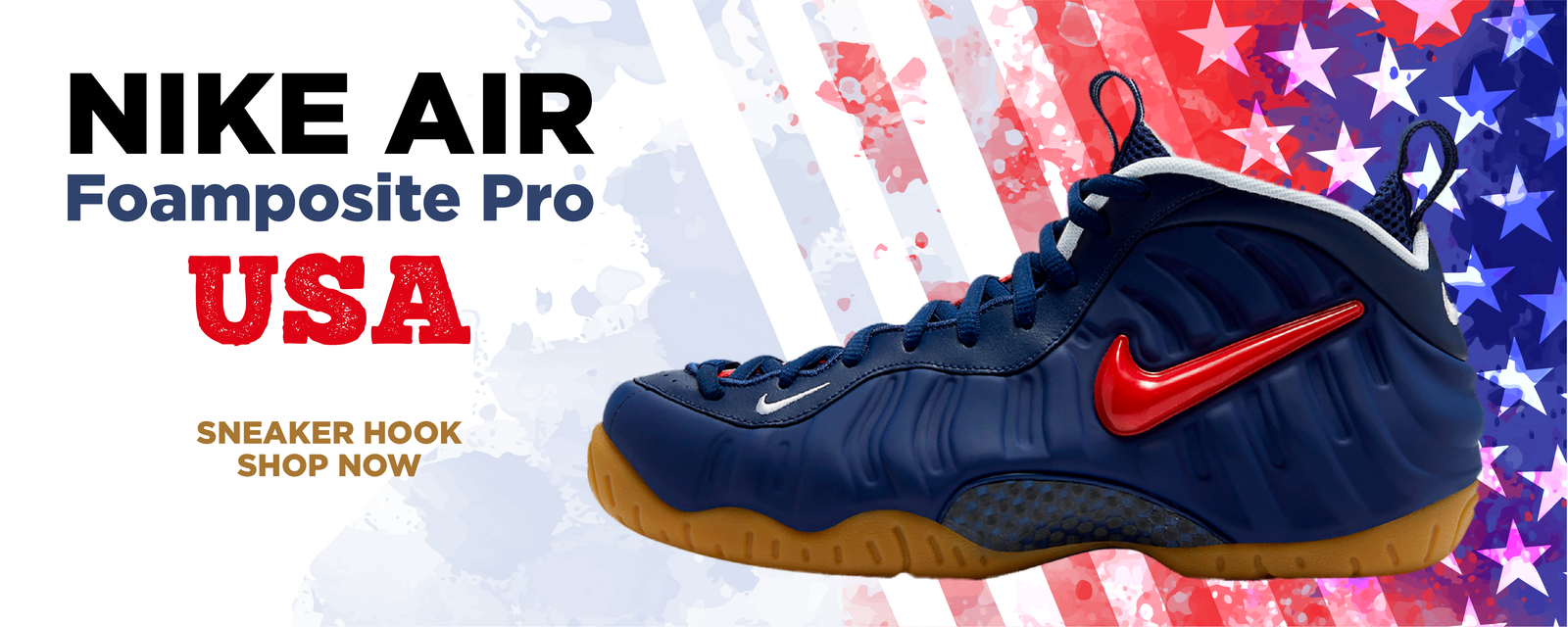 Air Foamposite Pro USA Clothing to match Sneakers | Clothing to match Nike Air Foamposite Pro USA Shoes