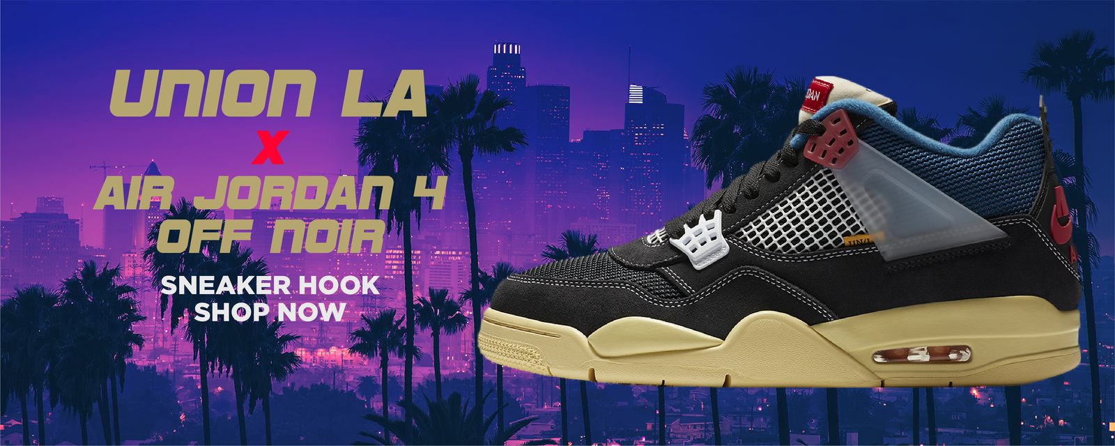 Jordan 4 Off Noir x Union LA Clothing to match Sneakers | Clothing to match Air Jordan 4 Off Noir x Union LA Shoes
