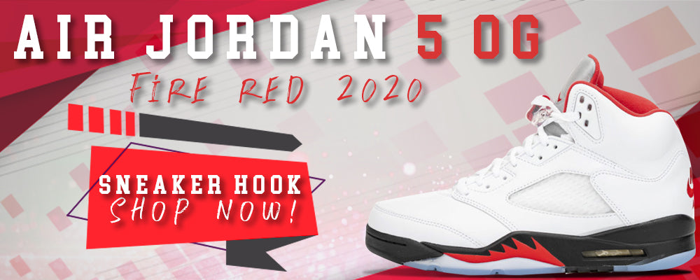 Jordan 5 OG Fire Red Clothing to match Sneakers | Clothing to match Air Jordan 5 OG Fire Red Shoes