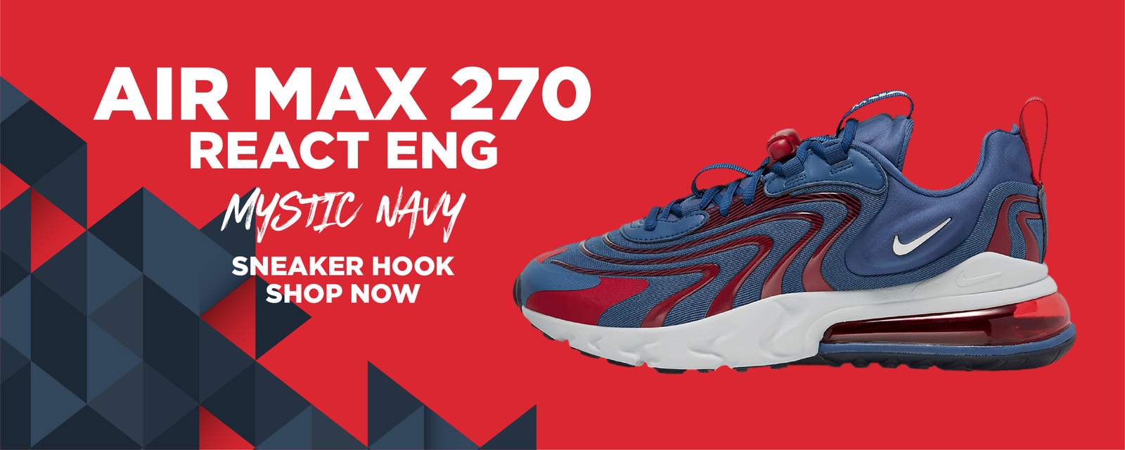 Air Max 270 React ENG Mystic Navy Clothing to match Sneakers | Clothing to match Nike Air Max 270 React ENG Mystic Navy Shoes