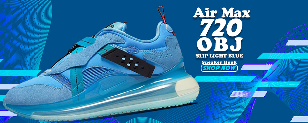 Air Max 720 OBJ Slip Light Blue Clothing to match Sneakers | Clothing to match Nike Air Max 720 OBJ Slip Light Blue Shoes