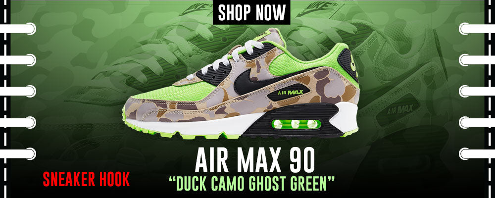 Air Max 90 Duck Camo Ghost Green Clothing to match Sneakers | Clothing to match Nike Air Max 90 Duck Camo Ghost Green Shoes