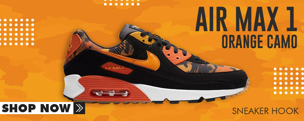 Air Max 90 Orange Camo Clothing to match Sneakers | Clothing to match Nike Air Max 90 Orange Camo Shoes