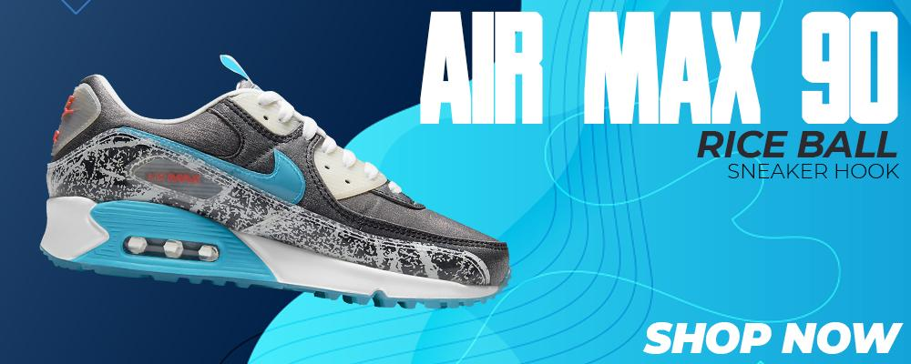 Air Max 90 Rice Ball Clothing to match Sneakers | Clothing to match Nike Air Max 90 Rice Ball Shoes