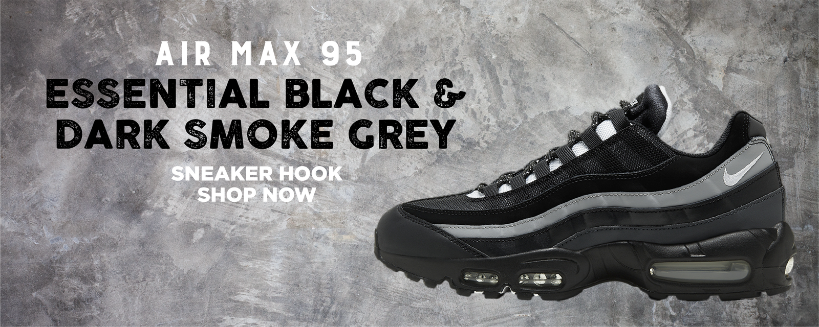 Air Max 95 Essential Black And Dark Smoke Grey Clothing to match Sneakers | Clothing to match Nike Air Max 95 Essential Black And Dark Smoke Grey Shoes