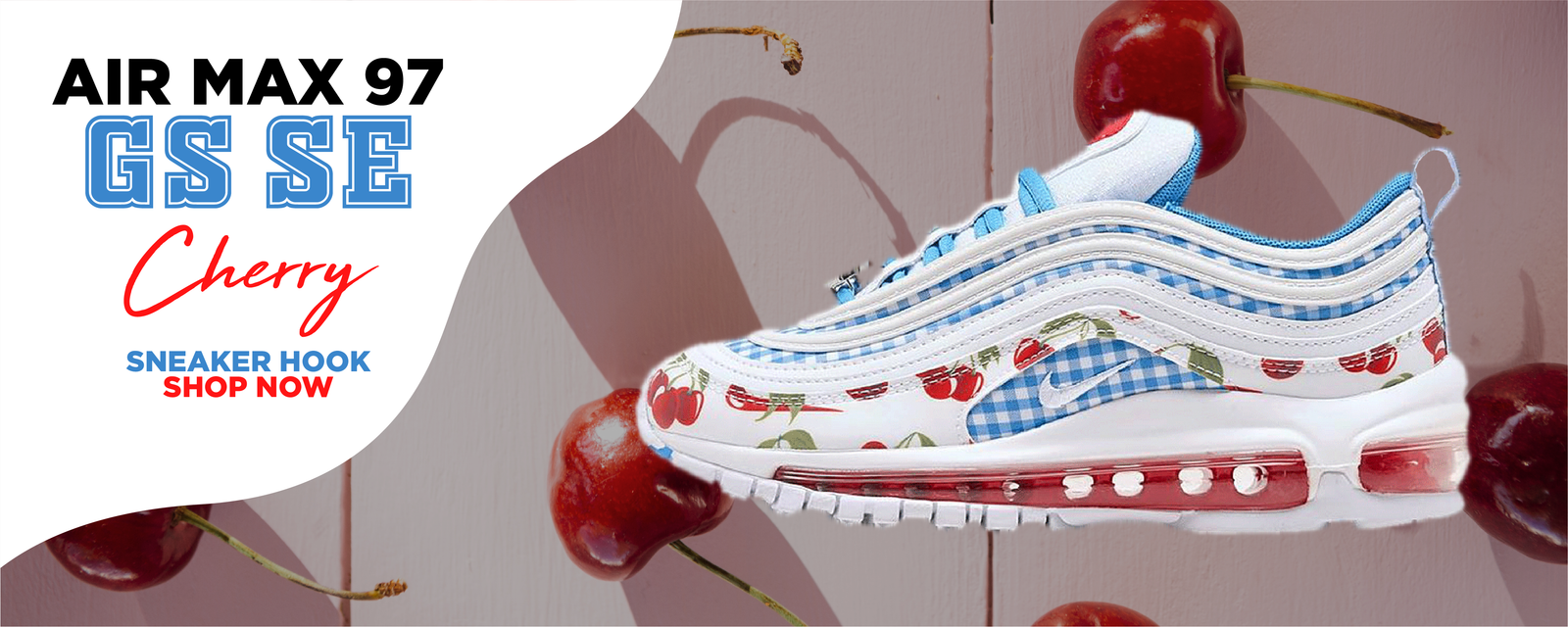 Air Max 97 GS SE Cherry Clothing to match Sneakers | Clothing to match Nike Air Max 97 GS SE Cherry Shoes