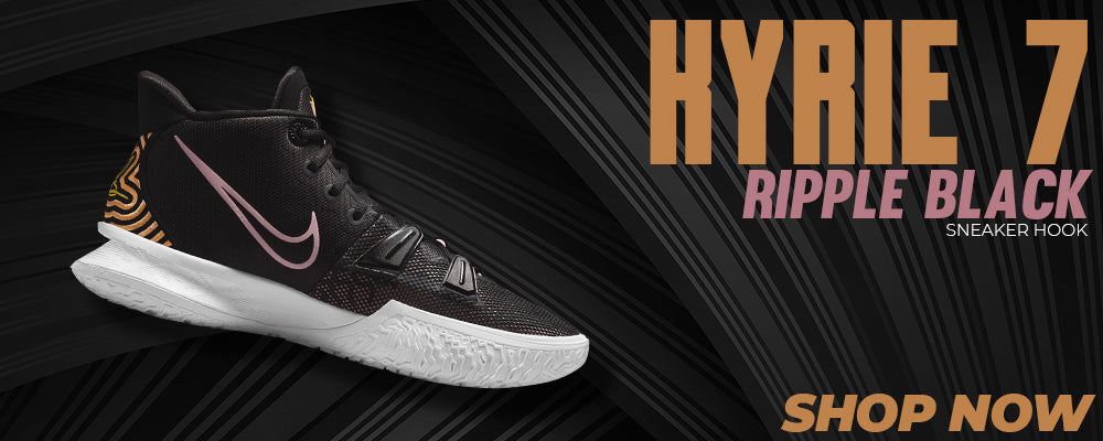 Kyrie 7 Ripple Black Clothing to match Sneakers | Clothing to match Nike Kyrie 7 Ripple Black Shoes