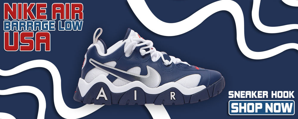 Air Barrage Low USA Clothing to match Sneakers | Clothing to match Nike Air Barrage Low USA Shoes
