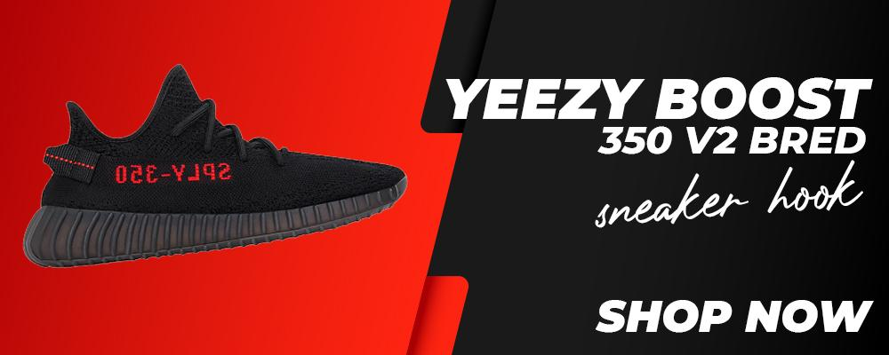 Yeezy 350 Boost V2 Bred Clothing to match Sneakers | Clothing to match Adidas Yeezy 350 Boost V2 Bred Shoes